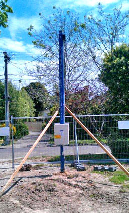 Temporary Power Pole Hire Melbourne Dunnys R Us Hire